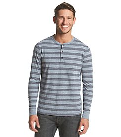 Ruff Hewn Men's Long Sleeve Heather Striped Henley