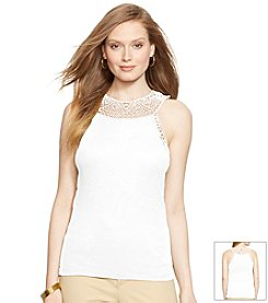 Lauren Ralph Lauren® Crocheted Cotton Tank