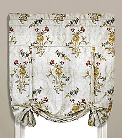 United Curtain Co. Jewel Tie-Up Shade