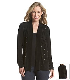 Laura Ashley® Trip Ready Studded Slinky Cardigan