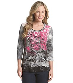 Laura Ashley® Blurred Medallion Top