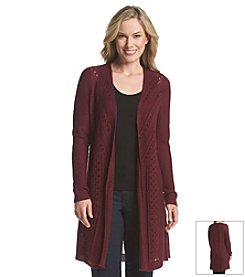Laura Ashley® Juliette Pointelle Cardigan