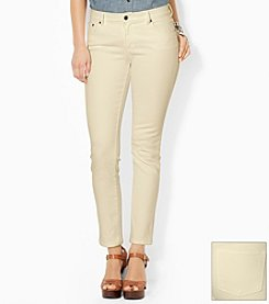 Lauren Jeans Co.® Super-Stretch Classic Straight Jean