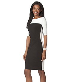 Chaps® Colorblock Sheath Dress