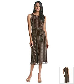 Prelude® Polka Dot Chiffon Dress