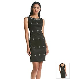 Ronni Nicole® Beaded Scuba Dress