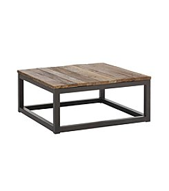Zuo Modern Distressed Natural Civic Center Square Coffee Table