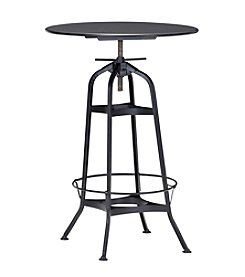 Zuo Modern Antique Black Spartan Bar Table