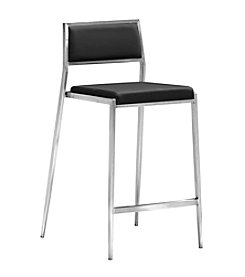 Zuo Modern Set of 2 Dolemite Counter Chairs