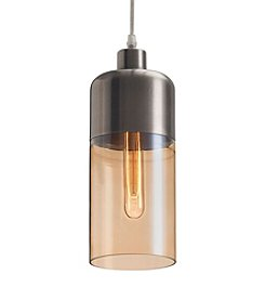 Zuo Modern Vente Ceiling Lamp Satin & Amber