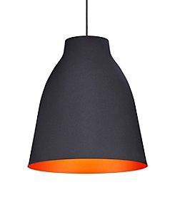 Zuo Modern Matte Black Bronze Ceiling Lamp