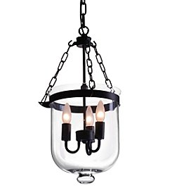 Zuo Modern Distressed Black Masterton Ceiling Lamp