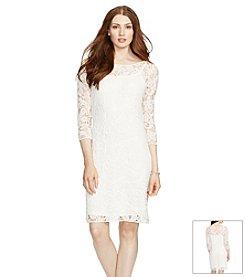 Lauren Ralph Lauren® Crocheted-Lace Dress