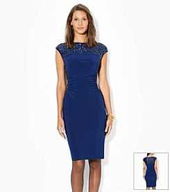 Lauren Ralph Lauren® Sequined Bateau Neck Dress