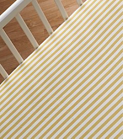 Lolli® Amber Stripe Crib Sheet