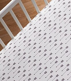 Lolli® Arrow Print Crib Sheet