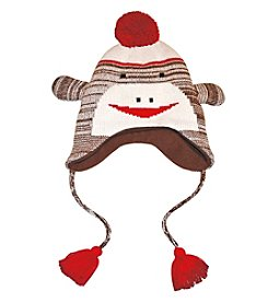 MUK LUKS Sock Monkey Hat