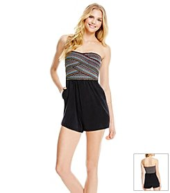 Jessica Simpson Banded Romper