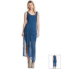 KIIND OF Ruffle Asymmetrical Dress