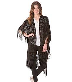 Sam Edelman™ Burnout Fringe Kimono