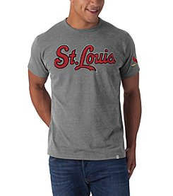 '47 Brand Men's St. Louis Cardinals Short Sleeve Fieldhouse Tee
