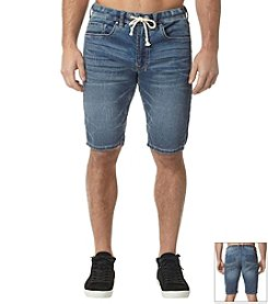Buffalo by David Bitton Men's Knit Denim Shorts