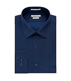 Van Heusen® Men's Long Sleeve Regular Fit Herringbone Button Down Dress Shirt