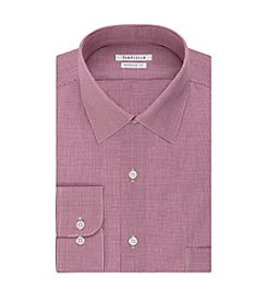 Van Heusen® Men's Long Sleeve Regular Fit Check Button Down Dress Shirt