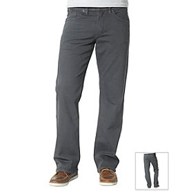 Silver Jeans Co. Men's Zac Twill Straight Jeans