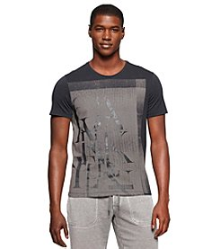 Calvin Klein Jeans Men's Short Sleeve Remnant Exploded Graphic Tee