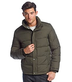 Tommy Hilfiger® Men's Puffer Jacket With Standing Collar