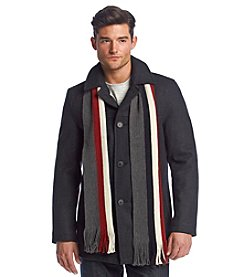 Tommy Hilfiger® Men's Wool Scarf Coat