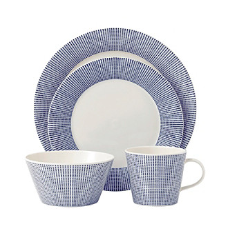 Royal Doulton® Pacific Dots 4-pc. Place Setting