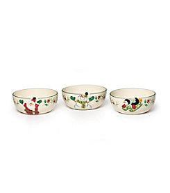 Pfaltzgraff® Winterberry Set of 3 Fruit Bowls