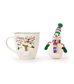Pfaltzgraff® Winterberry Snowman Mug with Matching Ornament