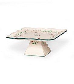 Pfaltzgraff® Winterberry Square Cake Plate