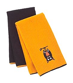 Ritz™ Trick-Or-Treat Bat 2-pk. Kitchen Towels
