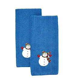 Ritz™ Snowy Friends Snowman 2-pk. Kitchen Towels