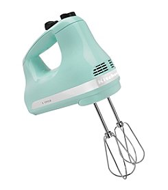 KitchenAid® 5-Speed Ultra Power Hand Mixer - Ice Blue color