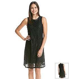 Taylor Dresses Lace Trapeze Dress