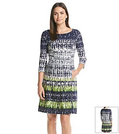 Vince Camuto® Printed Dress