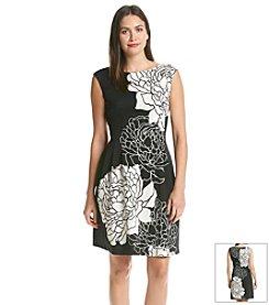 Vince Camuto® Floral Border Dress