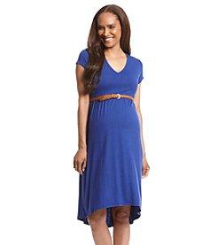 Three Seasons Maternity™ Short Sleeve Knit Dress