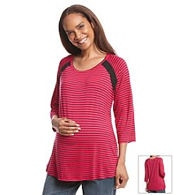 Three Seasons Maternity® Stripe Top