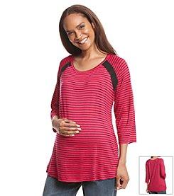 Three Seasons Maternity® Stripe Top