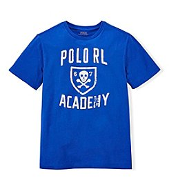 Ralph Lauren Childrenswear Boys' 8-20 Rl Academy Graphic Tee