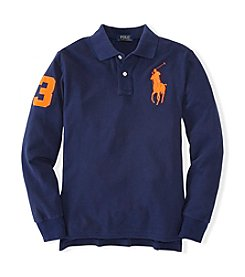 Ralph Lauren Childrenswear Boys' 4-7 Long Sleeve Polo Top