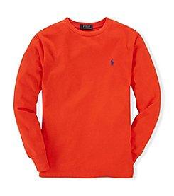 Ralph Lauren Childrenswear Boys' 4-7 Long Sleeve Classic Tee