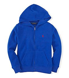 Ralph Lauren Childrenswear Boys' 2T-4T Solid Full Zip Hoody