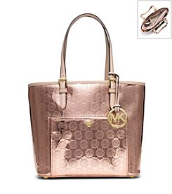 MICHAEL Michael Kors® Jet Set Medium Monogram Tote